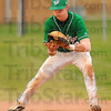 Good hands: West Vigo shortstop Tyler Wampler gloves a groundball in the early innings of the Vikings game at North Central.