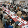 Full house: The Labor Temple was packed with political candidates and their supporters Monday evening during the candidate forum.