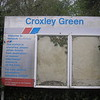 Croxley Green Network SouthEast station sign.