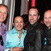 l to r: Brian Butter, Jim Duff, Bernard Schindell, Clint Evans
