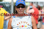 EAST HAMPTON-AUGUST 14: Deb McEneaney participates in  62nd Annual Artists & Writers Charity Softball Game on Saturday, August 14, 2010 at Herrick Park, East Hampton, New York   (PHOTO CREDIT: ©Manhattan Society.com 2010 by Gregory Partanio)