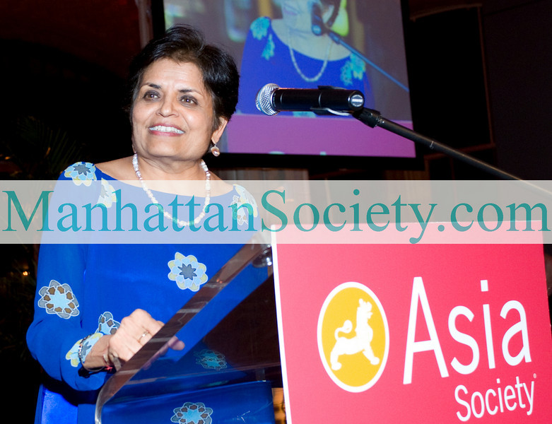 "NEW YORK-MARCH 22:Vishakha N. Desai, President, Asia Society attends ASIA SOCIETY: ""Celebration of Asia Week--AllThingsArtAsia"" Gala Dinner  on Monday, March 22, 2010 at  at Guastavino's, 409 East 59th Street New York, NY 10022  (PHOTO CREDIT:  ©Manhattan Society.com 2010 by Christopher London)"