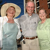 Family: Relatives of Max Ehrmann were on hand for the dedication of the Max Ehrmann at the Crossroads sculpture Thursday afternoon. They are Gretchen Maclachlan, Bill Lutz and Sally McClintock.
