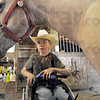 Brush: Jessey Tumey prepares to brush his horse Sunday afternoon on the Tumey's Parke County farm.