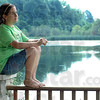 4-H: Serena Selinfreund sits on the deck of her family home and talks about her 4-H experiences with Tribune-Star reporter Brian Boyce Sunday afternoon.