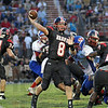 Open: South's #8, Danny Etling throws to an open teammate during Friday's game against Martinsville.L