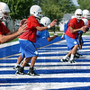 QBs: Indiana State quarterbacks work out together at practice Friday.