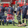 Fashionistas: A group of Clinton City firefighters get plenty of attention as the team to beat during Saturday's United Way event. The team has garnered many trophies in this type of competition. The group includes Jimmy Silotto, Justin Nelson, Bryan Clover and Dustin Mankin.
