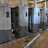 Cost effective: Four new furnaces replace the old ones at Terre Haute South High School. With the old units being only 50% effecient and the new ones rated between 96-98%, the savings will be apparent this winter.
