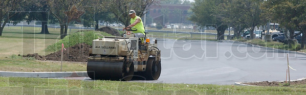 More space: A new parking lot was added to Terre Haute South High School this summer.
