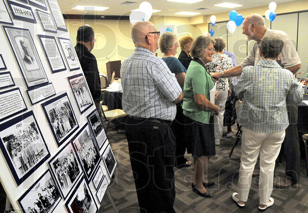Concannon: Members of the Concannon class of 1960 gather at The Landing for their 50th High School Reunion Saturday evening.