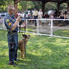 K-9 demonstration: Terre Haute Police Sgt. Todd Haller gives a K-9 demonstration during the annual Bark in the Park event at Deming Park Saturday morning.