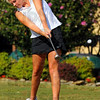 Northview#2: Shelby French tees off on #6 in the Knight's match with West Vigo Monday  afternoon.
