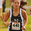 Best Knight: Alyssa Conrad was the top finisher for Northview in the cross country invitational Tuesday evening.