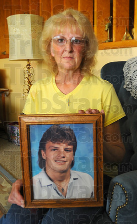Remembered: Monica Shipley lost her son Jeff in 2004. She is starting a support group to help others cope with their losses.