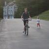 flip-flop bike riding