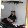 Lee is zu Besuch aus dem London Buero - jetzt ist er erstmal Seekrank