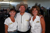 "(Louviers, Colorado, Aug. 7, 2010)<br /> Tracy Nash (event chair) with Steve (DCP advisory board chair) and Nancy Hardardt.  ""Rhinestone Roundup,"" benefiting Douglas County Partners' youth mentoring program, at Zuma's Rescue Ranch near Louviers, Colorado, on Saturday, Aug. 7, 2010.<br /> STEVE PETERSON"