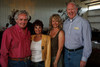 "(Louviers, Colorado, Aug. 7, 2010)<br /> Jay and Nettie Palace with Caroline and Karl Krueger.  ""Rhinestone Roundup,"" benefiting Douglas County Partners' youth mentoring program, at Zuma's Rescue Ranch near Louviers, Colorado, on Saturday, Aug. 7, 2010.<br /> STEVE PETERSON"