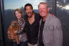 "(Castle Pines, Colorado, Aug. 21, 2010)<br /> Jana Bartlit holding Lulu, Lionel Richie, and Bob Rohde.  ""Lulu's Barkin' BBQ,"" benefiting the Dumb Friends League, at home of Fred and Jana Bartlit near Castle Pines, Colorado, on Saturday, Aug. 21, 2010.<br /> STEVE PETERSON"