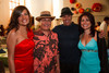 "(Denver, Colorado, Aug. 14, 2010)<br /> Tessa Harvey, George Martinez, Gene Cisneros, and Suzanna Martinez.  ""Rojo Cecilia,"" benefiting Museo de las Americas, at the St. Cajetan Center in Denver, Colorado, on Saturday, Aug. 14, 2010.<br /> STEVE PETERSON"