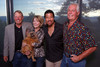 "(Castle Pines, Colorado, Aug. 21, 2010)<br /> Bob Rohde, Jana Bartlit holding Lulu, Lionel Richie, and Fred Bartlit.  ""Lulu's Barkin' BBQ,"" benefiting the Dumb Friends League, at home of Fred and Jana Bartlit near Castle Pines, Colorado, on Saturday, Aug. 21, 2010.<br /> STEVE PETERSON"
