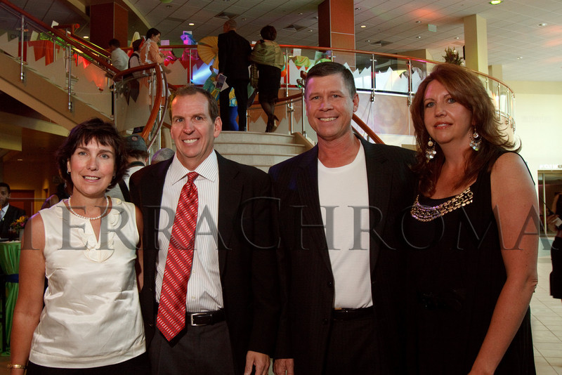 (Denver, Colorado, Aug. 21, 2010)<br /> Sally and Jim Conley with Bob and Virginia Heykoop.  Jim and Bob are on the RMCHF board of directors.  The Kaleidoscope Ball, a benefit for the Rocky Mountain Children's Health Foundation, at Rocky Mountain Hospital for Children at Presbyterian/St. Luke's near Denver, Colorado, on Saturday, Aug. 21, 2010.<br /> STEVE PETERSON