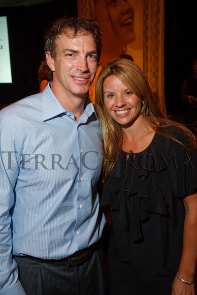 "(Littleton, Colorado, Aug. 27, 2010)<br /> Joe and Debbie Sakic.  ""Joe and Debbie Sakic Bringing Hope to the Table Celebration,"" a benefit for Food Bank of the Rockies, at the Denver Marriott South at Park Meadows in Littleton, Colorado, on Friday, Aug. 27, 2010.<br /> STEVE PETERSON"