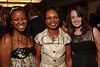 (Denver, Colorado, Aug. 27, 2010)<br /> Stella Clingmon, Condoleezza Rice, and Roisin Pelley.  Clingmon and Pelley are graduates of The Walsh School of Foreign Service at Georgetown University.  The University of Denver's Josef Korbel School of International Studies presents the 13th annual Korbel Dinner at the Hyatt Regency Denver at the Colorado Convention Center in Denver, Colorado, on Friday, Aug. 27, 2010.<br /> STEVE PETERSON