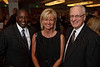 (Denver, Colorado, Aug. 27, 2010)<br /> Cornell and Melissa Boggs with Dennis Puffer.  Cornell and Dennis are with Miller-Coors.  The University of Denver's Josef Korbel School of International Studies presents the 13th annual Korbel Dinner at the Hyatt Regency Denver at the Colorado Convention Center in Denver, Colorado, on Friday, Aug. 27, 2010.<br /> STEVE PETERSON