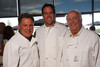 (Denver, Colorado, Aug. 28, 2010)<br /> Walter Isenberg, Brian Griese, and Dick Robinson.  Celebrity Waiter event, a Concerts for Kids benefit, at Shanahan's Steak House in Denver, Colorado, on Saturday, Aug. 28, 2010.<br /> STEVE PETERSON