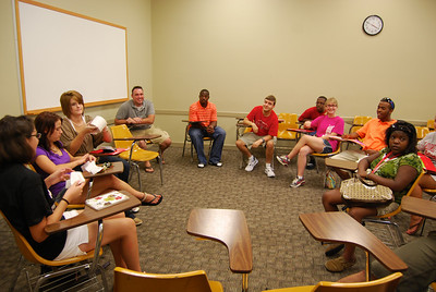 The Freshmen moved in a week early to participate in all the fun orientation games.