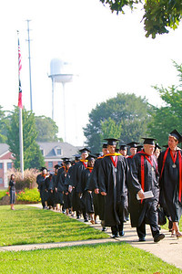 Summer Session Commencement Ceremony; August 09, 2010