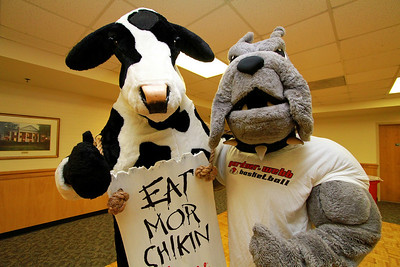 Chick-fil-A Ribbon Cutting Ceremony in the bottom of the DCC; August 2010.