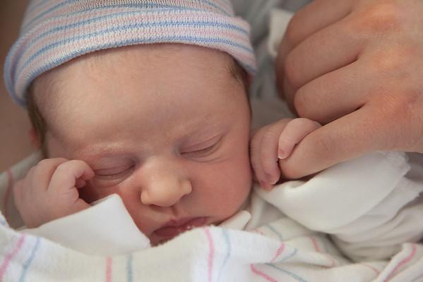 Newborn Baby Anna