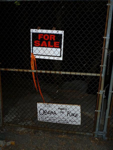 Hmmm... very strange real estate marketing scheme