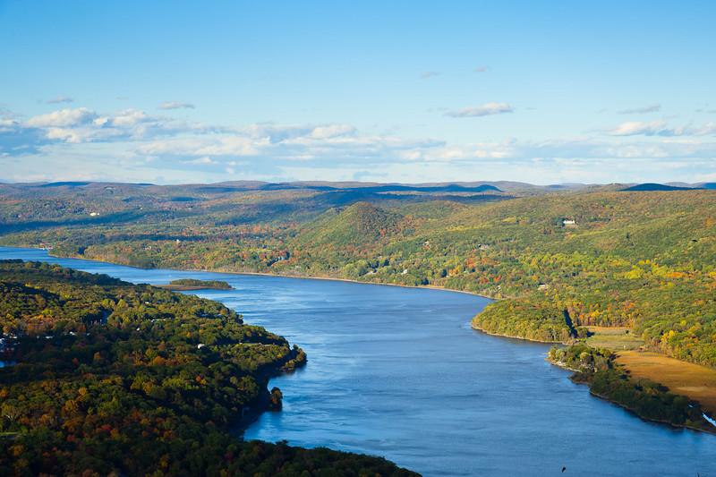 Hudson River and highlands