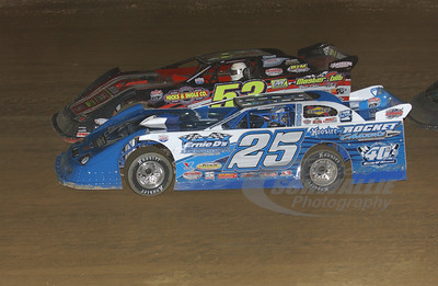 25 Josh Richards and 53 Ray Cook
