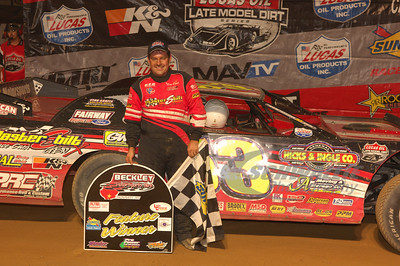 Ray Cook in Victory Lane @ Beckley Motorsports Park
