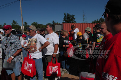 Fans at the Driver's Autograph Session @ Beckley Motorsports Park