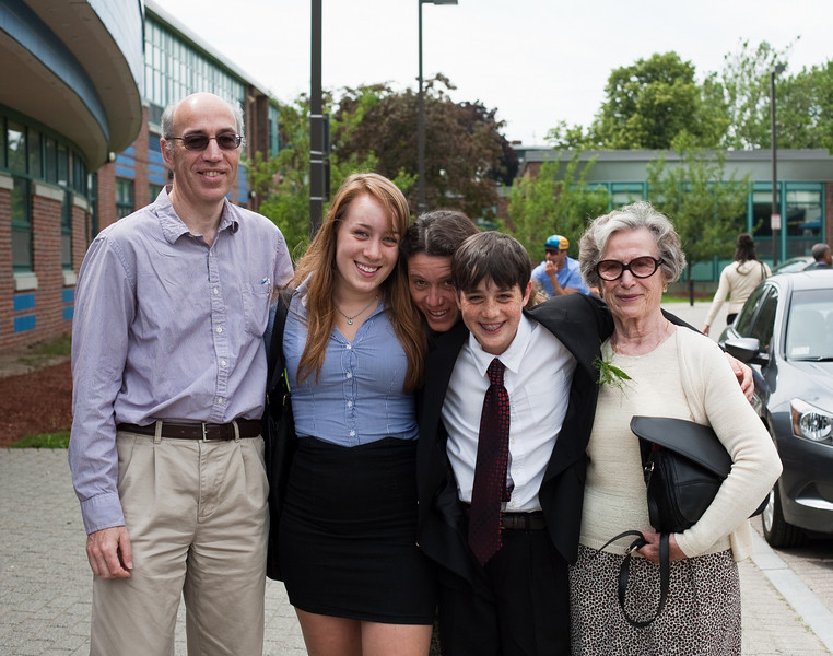 Richard, Isabel, Aunt Marian, Benjamin, and Grandma José