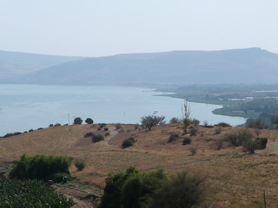 "Sea of Galilee - contrary to what I though, this ""sea"" contains fresh water."