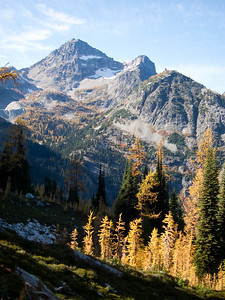 Black Peak with Golden Larch.