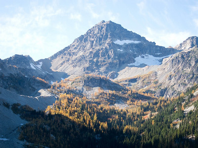 Black Peak with Golden Larch