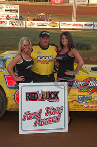 Don O'Neal won the Red Buck Cigars Fast Time Award