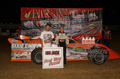 Steve Casebolt won the Red Buck Cigars Fast Time Award