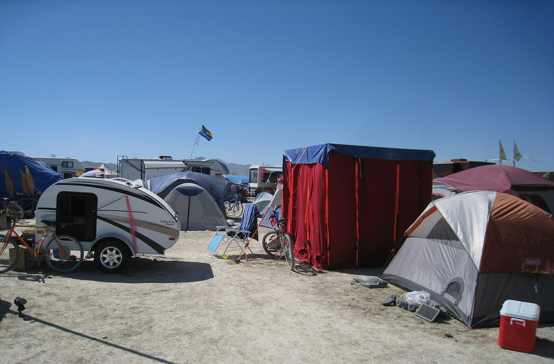 047-got the tent dried and set up