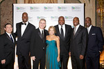 Ron Iervolino, Cliff Robinson, Les Lieberman, Katie Couric, Howard Cross, Amani Toomer, Trent Tucker