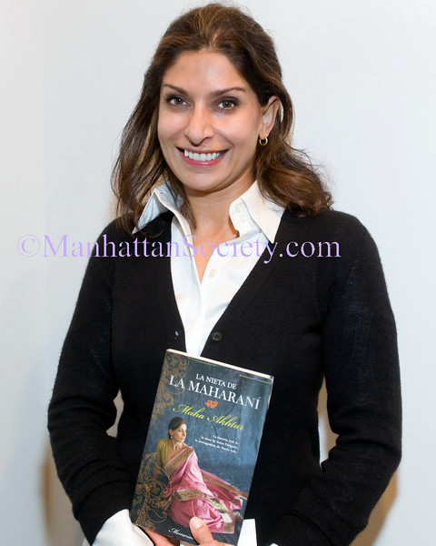 "NEW YORK-MARCH 11:  Maha Akhtar attends book presentation ""La nieta de la Maharaní"" by MAHA AKHTAR hosted by CERVANTES INSTITUTE on Thursday, March 11, 2010 at Instituto Cervantes New York 211 East 49th Street, New York, NY 10017 (PHOTO CREDIT:  ©Manhattan Society.com 2010 by Christopher D. Mejia London)"