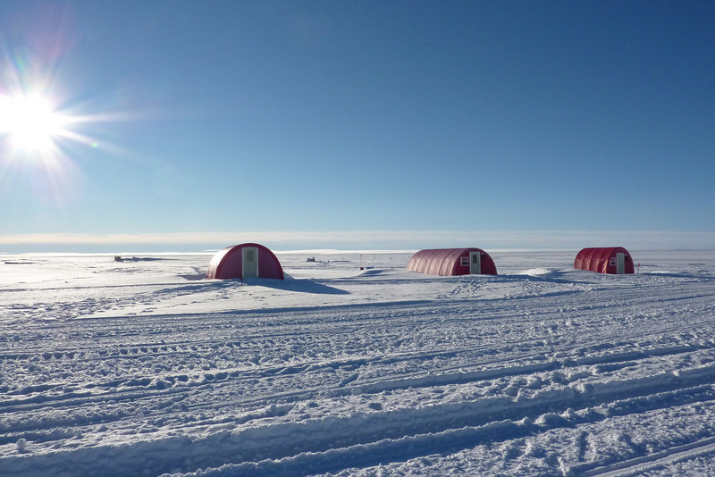 The other type of tents for sleeping<br /> <br /> Photo: Julia Zabori